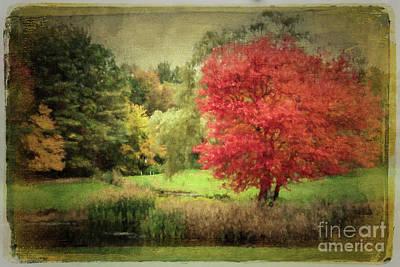 Antique Autumn Poster