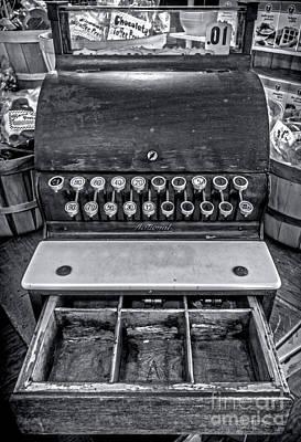 Antique Cash Register 1 Poster by James Aiken