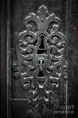 Antique Door Lock Poster