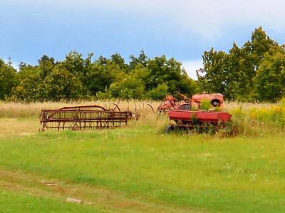 Antique Farm Equipment 2 Poster