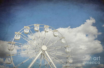 Antique Ferris Wheel Poster by Liesl Marelli