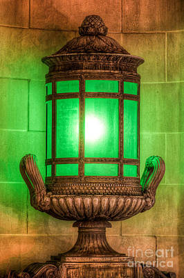 Antique Lantern Poster