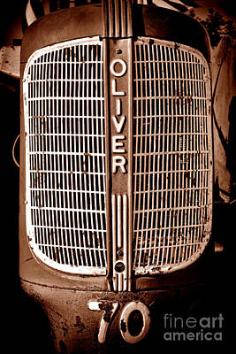 Antique Oliver 70 Poster by Olivier Le Queinec