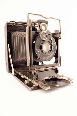 Antique Photo Camera Poster