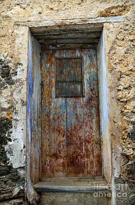Antique Rustic Door Poster