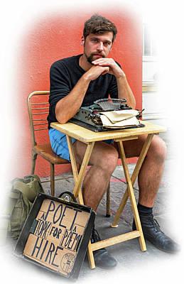 Antoine - Vignette Poster by Steve Harrington