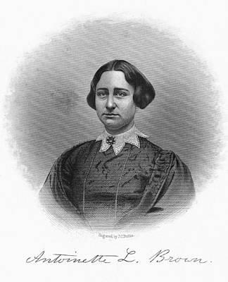Antoinette Brown Blackwell Poster