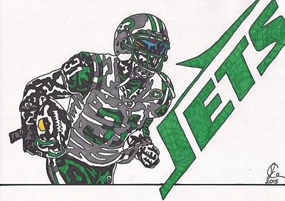 Antonio Cromartie  Poster by Jeremiah Colley