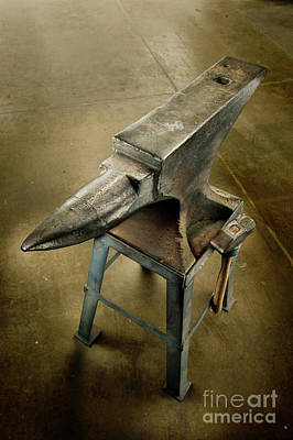 Poster featuring the photograph Anvil And Hammer by YoPedro