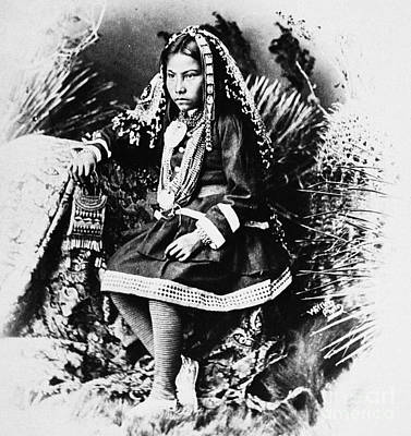 Apache Girl, 1886 Poster