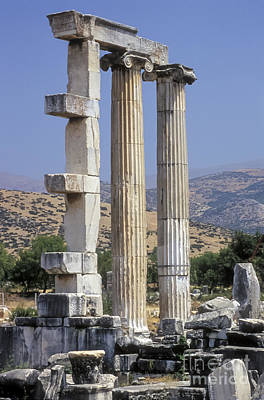Aphrodisias Aphrodite Temple Poster by Bob Phillips