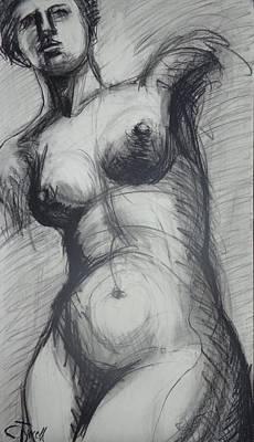 Aphrodite - Female Nude Poster