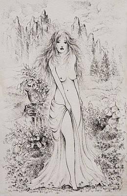 Aphrodite Poster by Rachel Christine Nowicki
