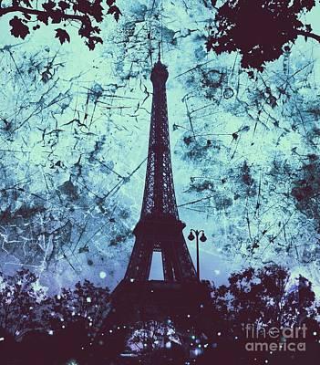 Apocalyptic Garden Party Eiffel Tower 21 Poster