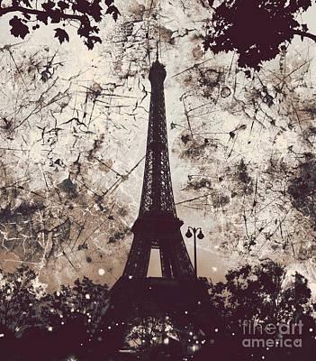 Apocalyptic Garden Party Eiffel Tower 22 Poster