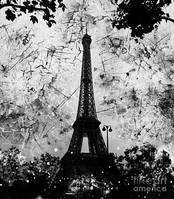 Apocalyptic Garden Party Eiffel Tower 36 Poster