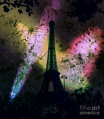 Apocalyptic Garden Party Eiffel Tower 66 Poster