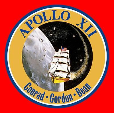 Apollo 12 Poster by Otis Porritt
