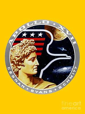 Apollo 17 Insignia Poster by Art Gallery