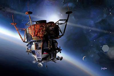 Apollo 9 Lunar Module Poster