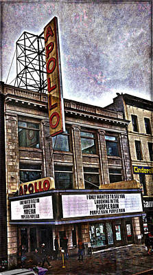 Apollo Theatre, Harlem Poster