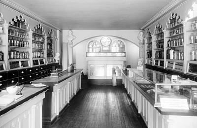Apothecary Shop, Founded Ca. 1795 Poster