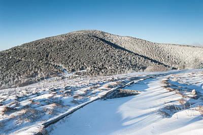 Appalachian Trail Roan Highlands Winter Scenic Poster