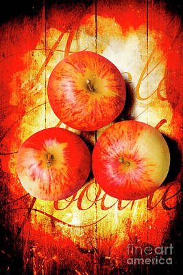 Apple Barn Artwork Poster