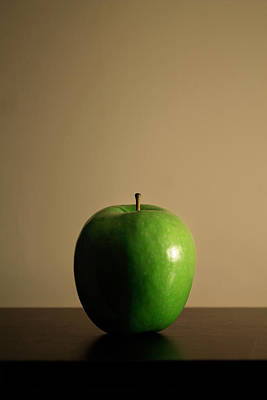 Poster featuring the photograph Apple by Break The Silhouette