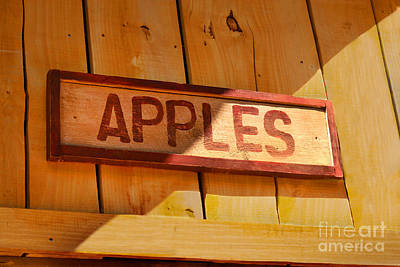Apples For Sale Poster by Jennifer Apffel