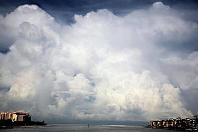 Approaching Storm Poster by Carol Kinkead