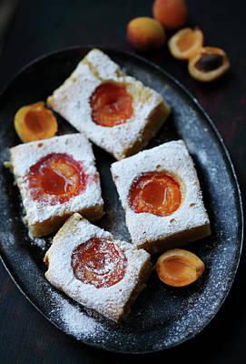 apricot cakes by Iuliia Malivanchuk Poster by Iuliia Malivanchuk