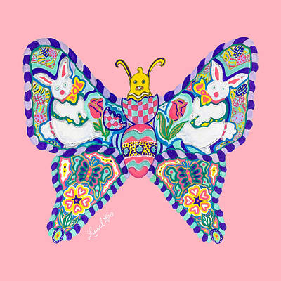 April Butterfly Poster