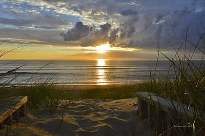 April Sunrise In Nags Head Poster