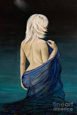 Aqua Serene Poster