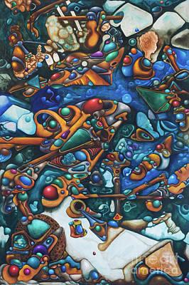 Aquariumalgam Poster by Devin Cogger