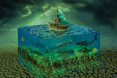 Aquatic Life Poster by Solomon Barroa