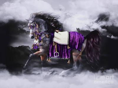 Arabian Horse  Shaitan Poster