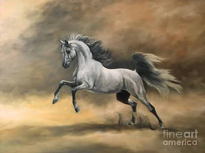 Arabian Poster by Jeanne Newton Schoborg