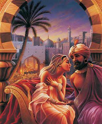 Arabian Night Poster