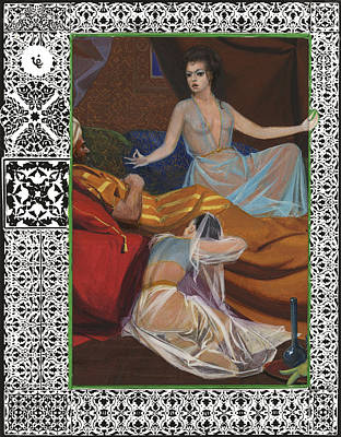 Arabian Nights - Scheherazade With King Shahryar Poster