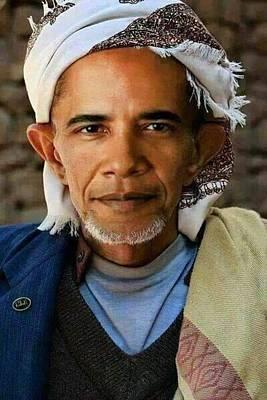Arabic Obama Poster