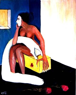 Arana Poster by Patricia Velasquez de Mera