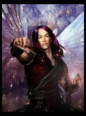 Archangel Raphael Heals Poster