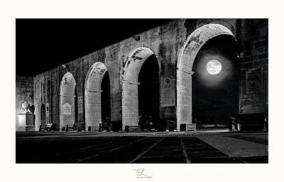 Arched Moon Poster