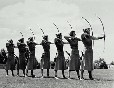 Archery Poster by Archive Holdings Inc.