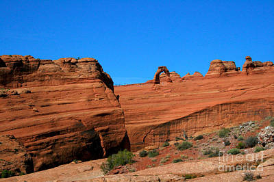 Arches National Park, Utah Usa - Delicate Arch Poster