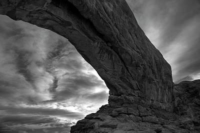 Arches Np Xx Bw  Poster by David Gordon