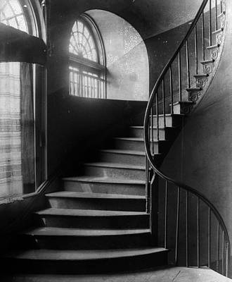 Arching Stairwell Poster