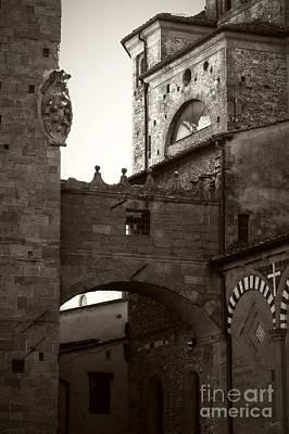 Architecture Of Pistoia Poster